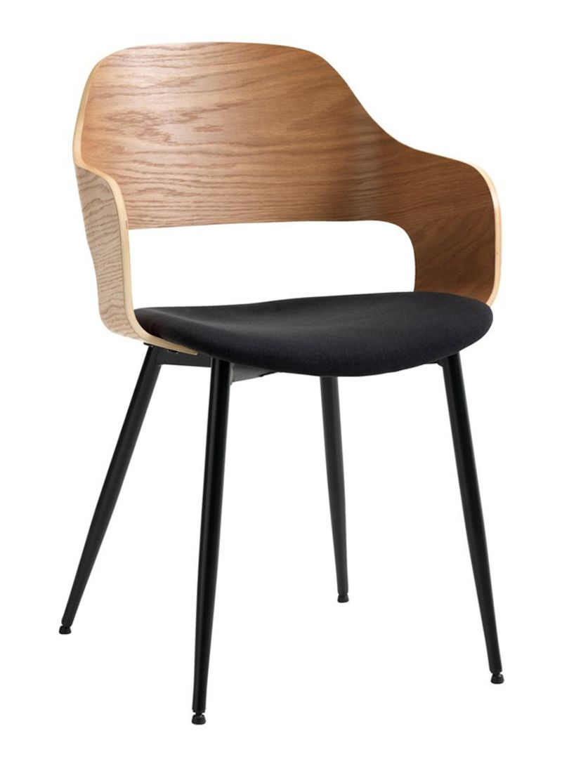 Shop JYSK Dining Chair Natural/Black 7x7x7centimeter online in Dubai,  Abu Dhabi and all UAE