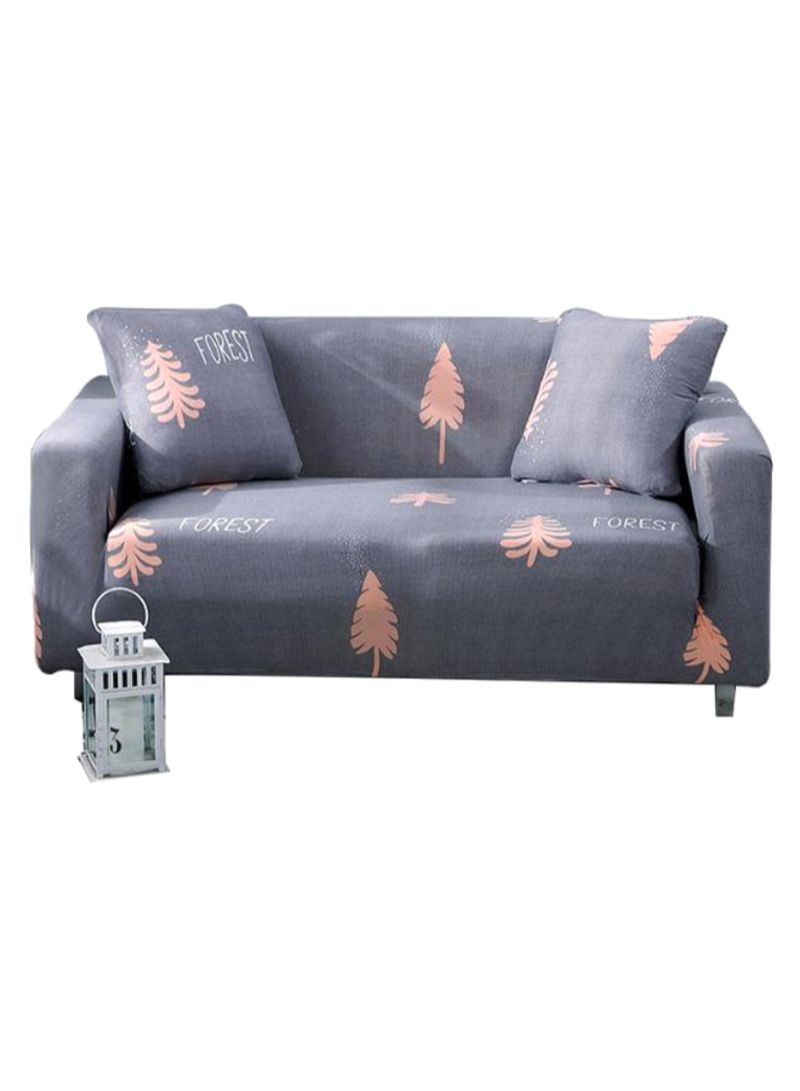 Forest Tree Printed Sofa Slipcover