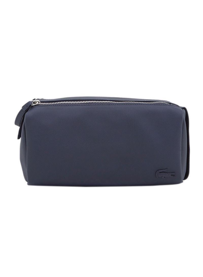 حقيبة مكياج بسحاب مزدوج