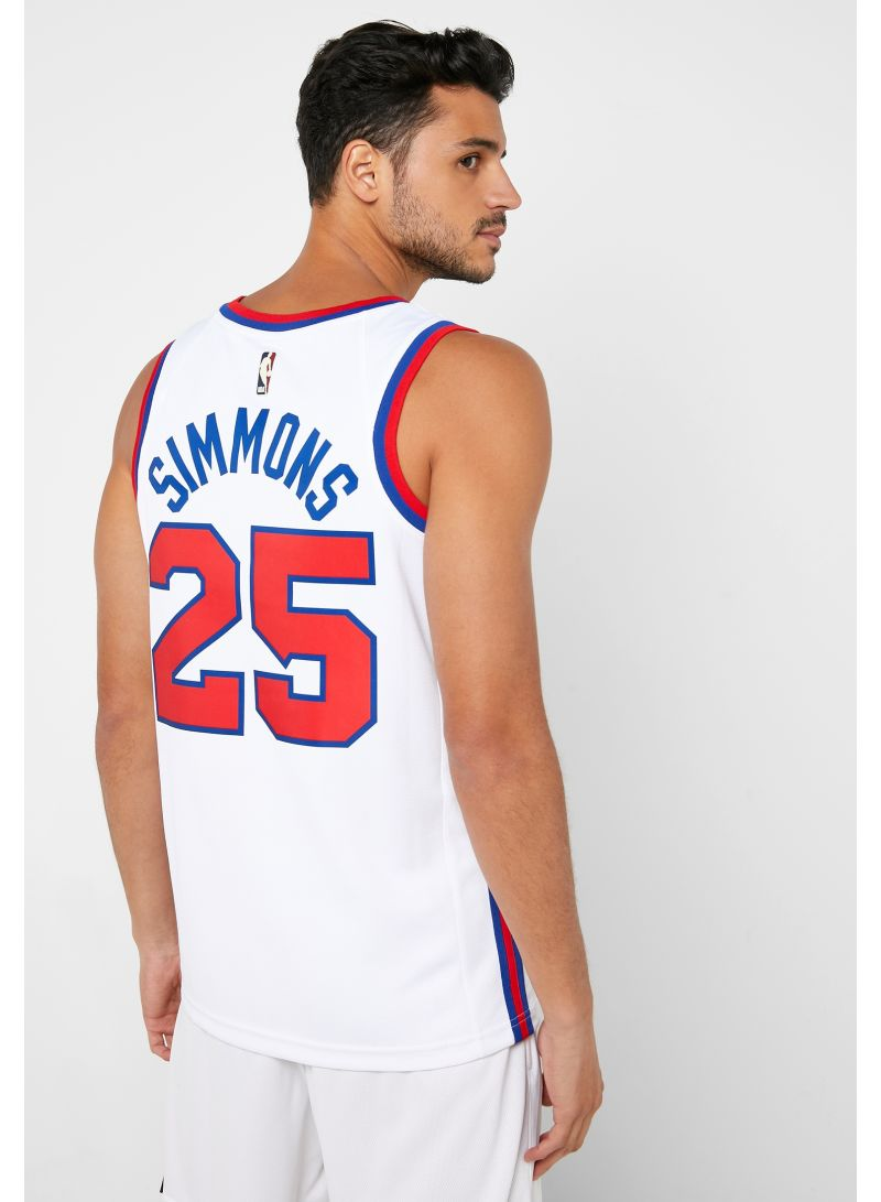 Shop Nike Ben Simmons 76'ers Swingman Jersey Multicolor online in Dubai, Abu  Dhabi and all UAE