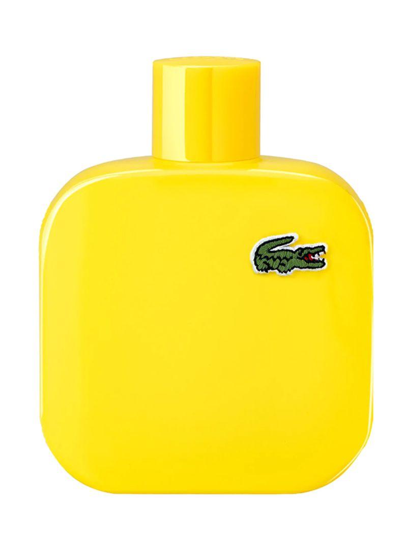 تسوق لاكوست وماء تواليت أو دو لاكسوت L.12.12 أصفر (جوان) أوبتميستيك 100 مل أونلاين في السعودية