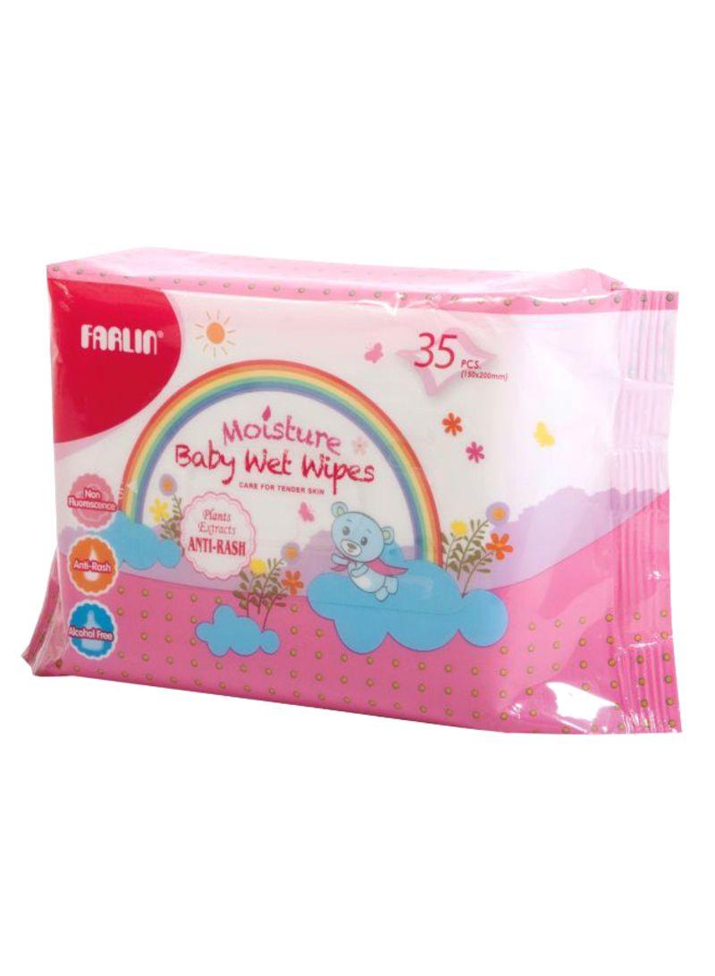35-Piece Anti Rash Baby Wet Wipe Set