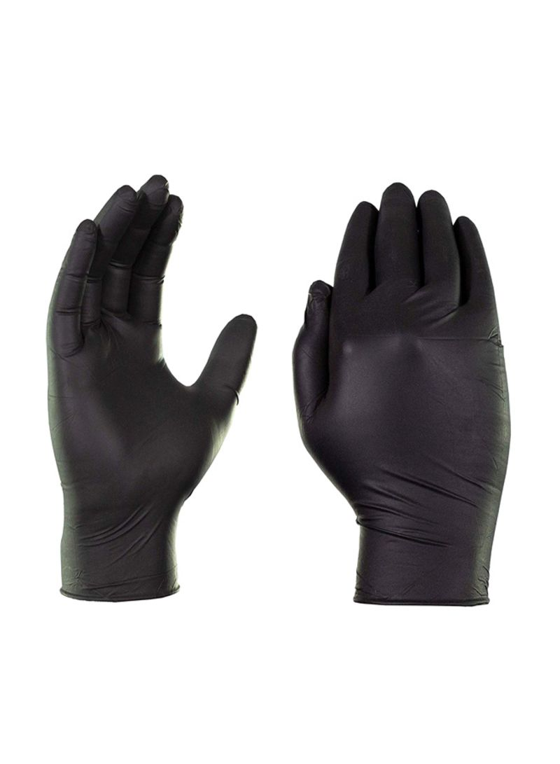 Shop Ammex 1000 Piece Industrial Nitrile Gloves Black Large Online In Dubai Abu Dhabi And All Uae