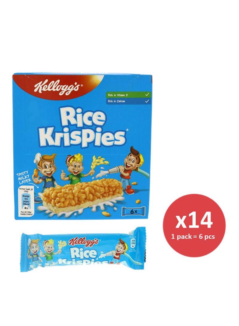 6-Piece Rice Krispies Bar Set 20g