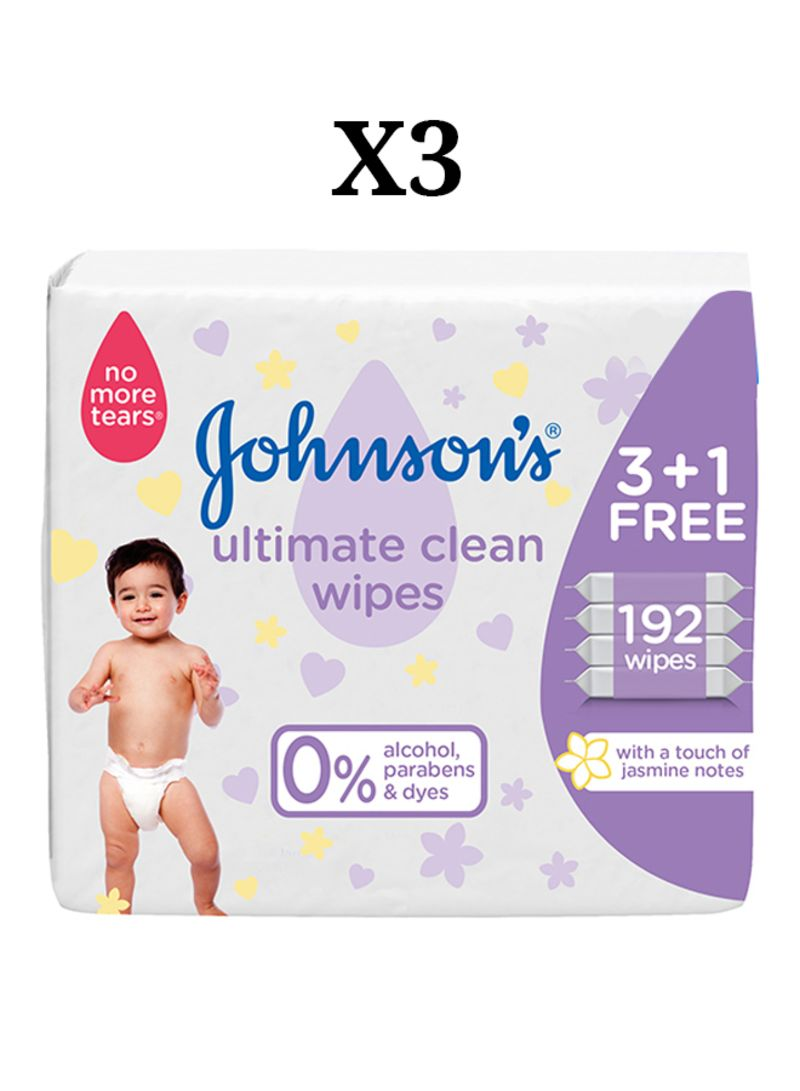4 Piece Ultimate Clean Wipes Set