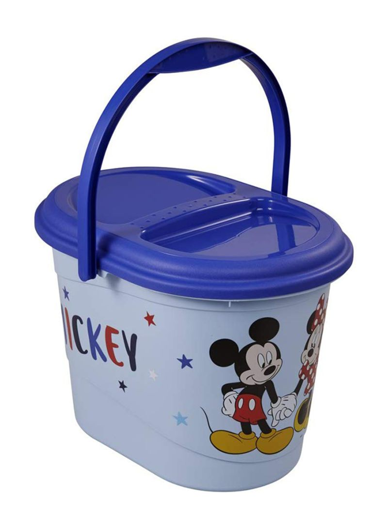 White Disney Baby Nappy Bucket Bin Minnie Mouse