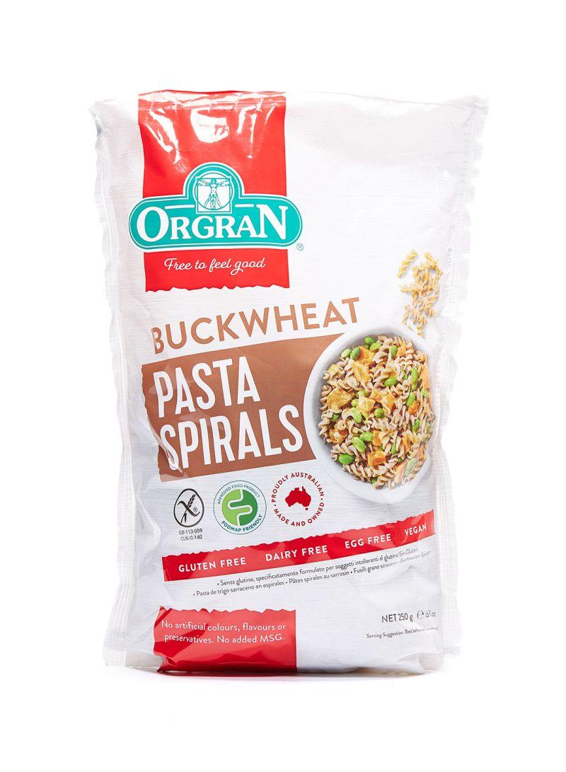 Buckwheat Pasta Spirals 250g