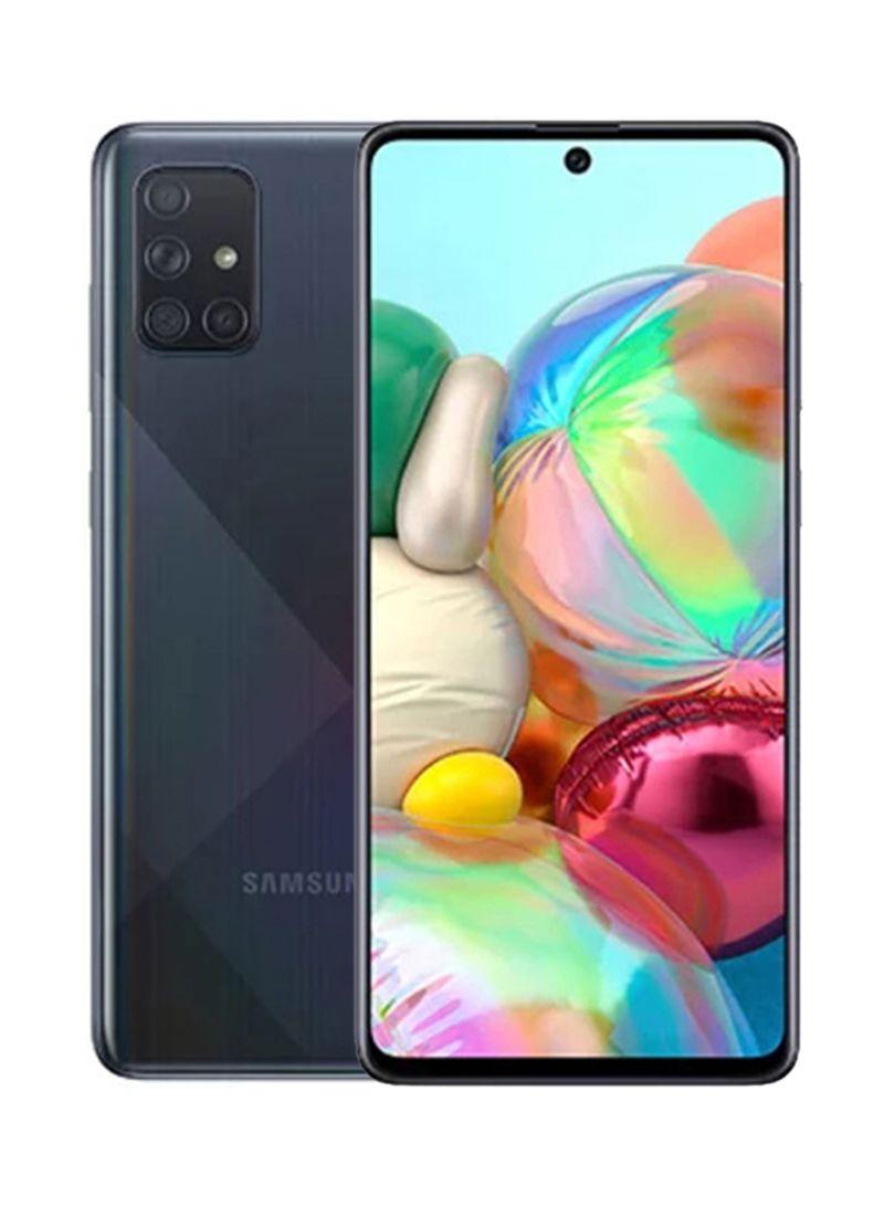Galaxy A71 Dual SIM Prism Crush Black 8GB RAM 128GB 4G LTE