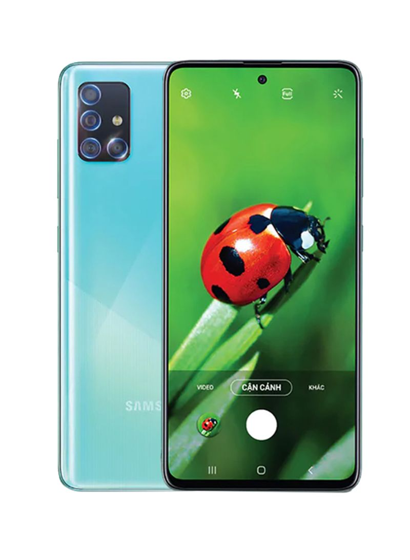 Galaxy A71 Dual SIM Prism Crush Blue 8GB RAM 128GB 4G LTE
