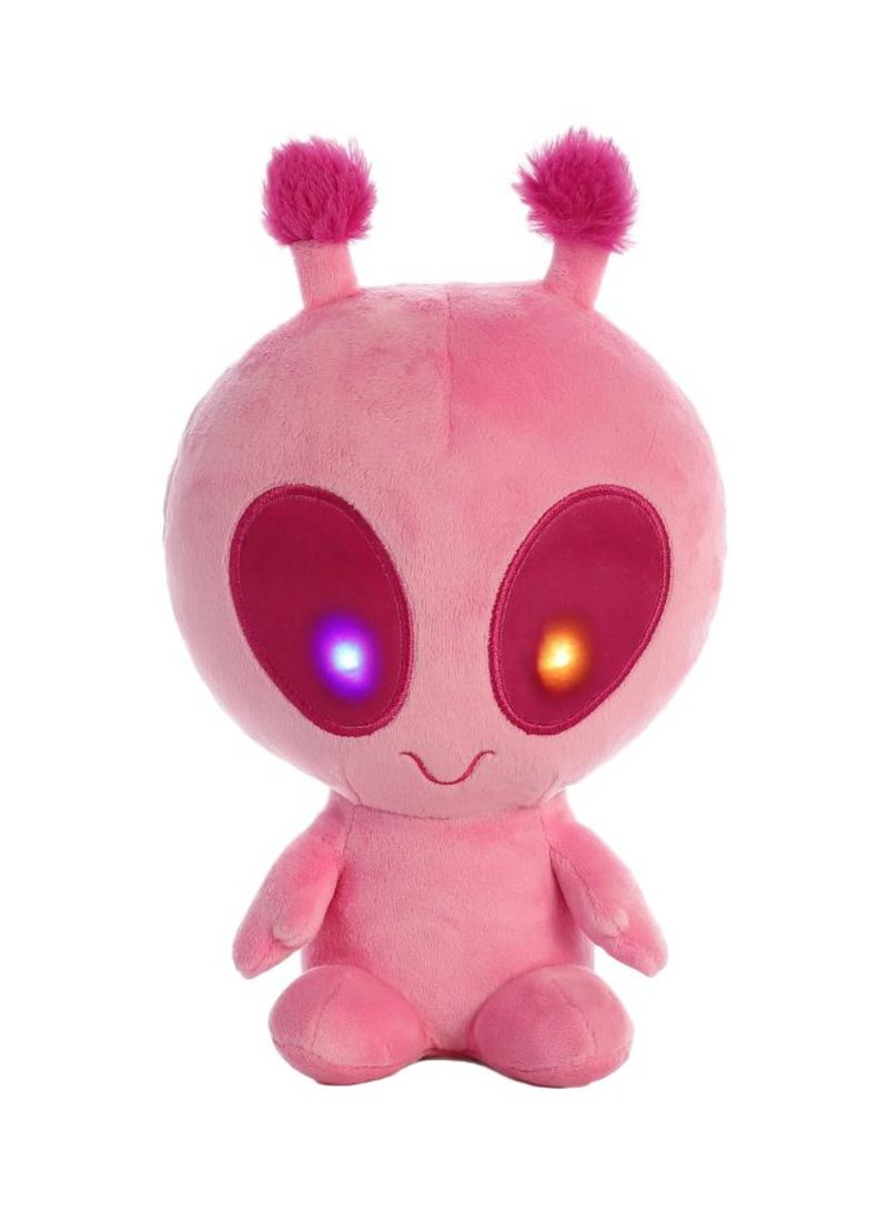 Solar Light Up Alien Stuffed Plush Toy