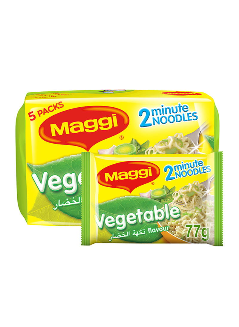 2 Minutes Vegetable Noodles 77g Pack of 5
