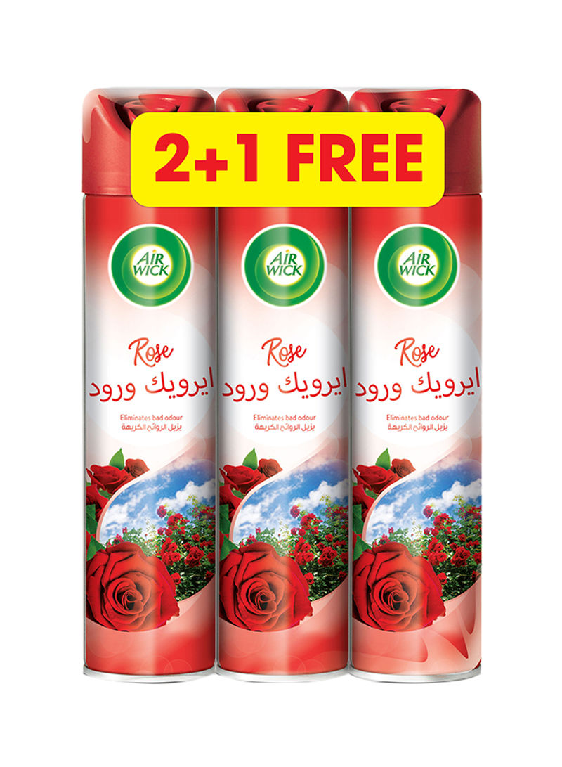 Air Freshener, 300 ml, 2+1 free - Rose