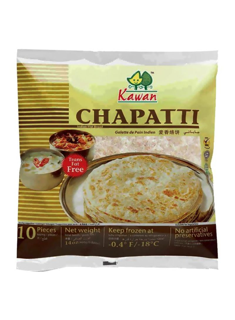 10-Piece Chapati 14ounce