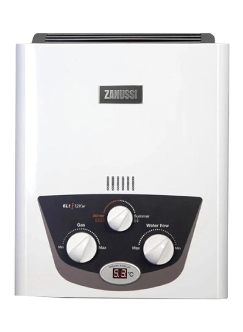 سخان مياه يعمل بالغاز سعة 6 لترات