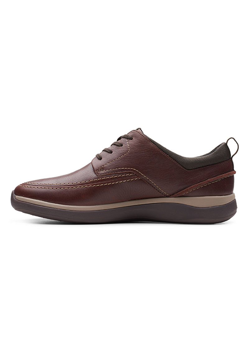 Lustre lila ganar  Shop clarks Garratt Street Casual Leather Shoes Brown online in Dubai, Abu  Dhabi and all UAE