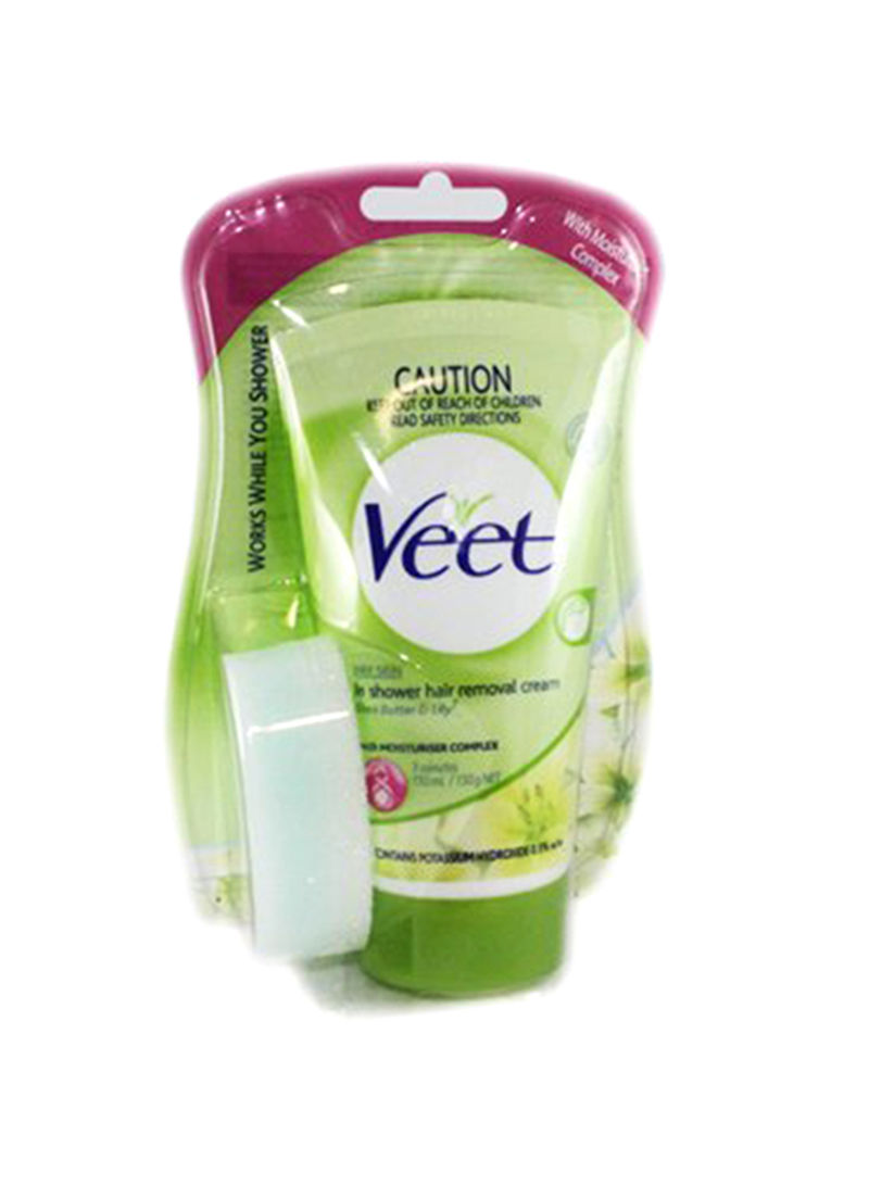 Shop Veet Hair Removal In Shower Cream Dry Skin 150ml Online In