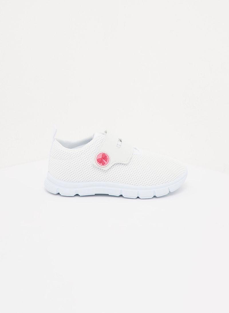 Shop shoexpress Velcro Shoes White