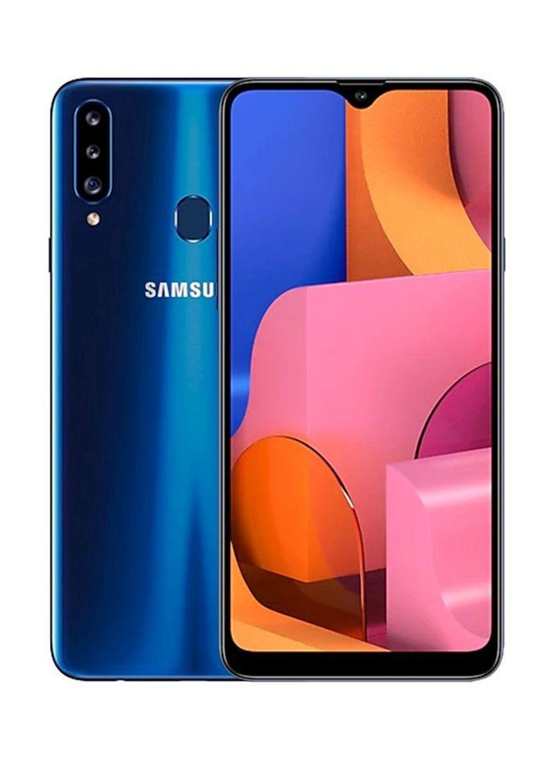 Shop Samsung Galaxy A20s Dual SIM Blue 4GB RAM 64GB 4G LTE online in  Riyadh, Jeddah and all KSA