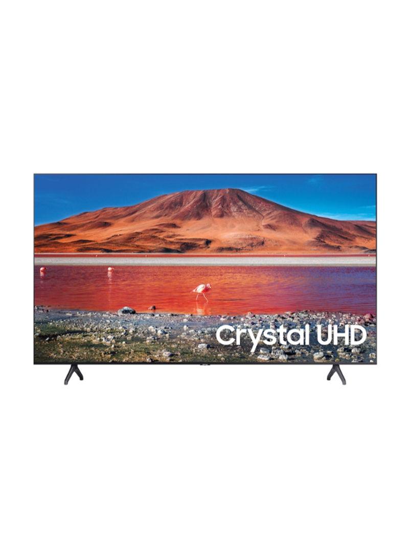 تلفزيون ذكي بشاشة LED مقاس 43 بوصة بدقة فائقة الوضوح 4K مع جهاز استقبال مدمج UA43TU7000 أسود