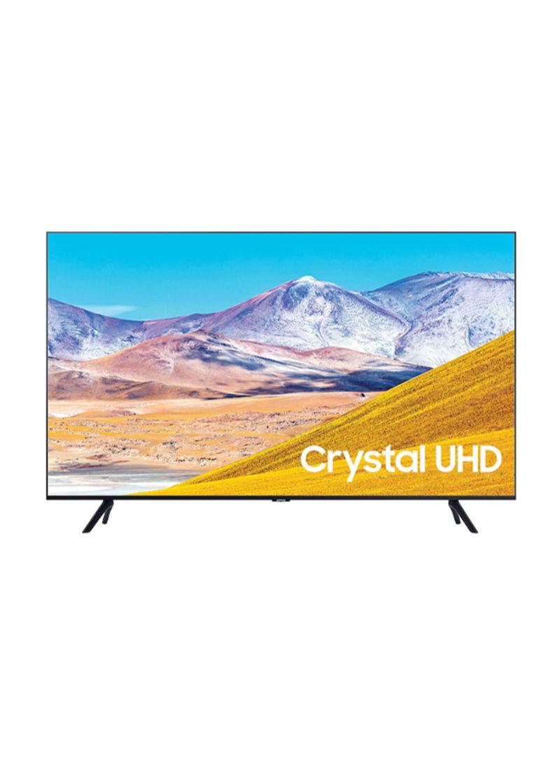 تلفزيون ذكي بشاشة LED مقاس 55 بوصة بدقة فائقة الوضوح 4K مع جهاز استقبال مدمج UA55TU8000 أسود