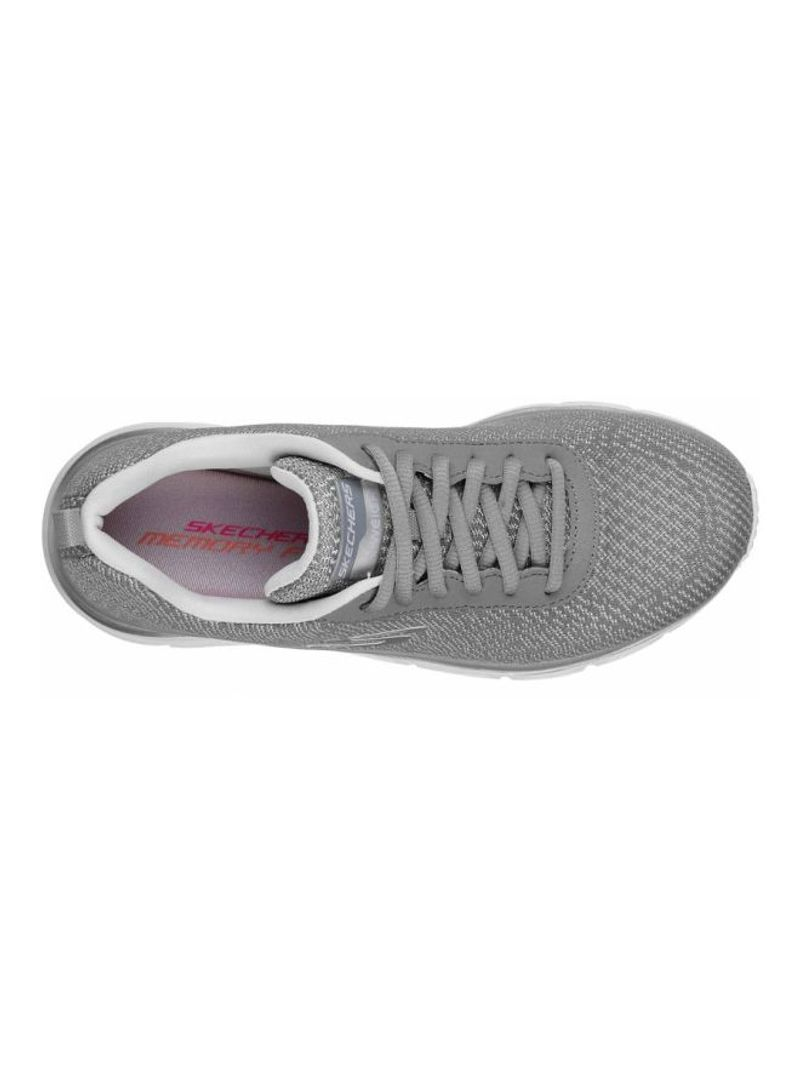 Shop SKECHERS Fashion Fit Trainers Grey