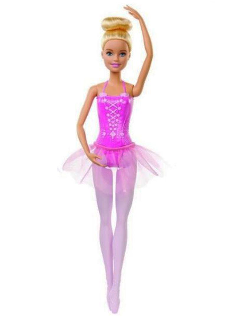 Barbie ბალერინა პაჩკით და პუანტებით