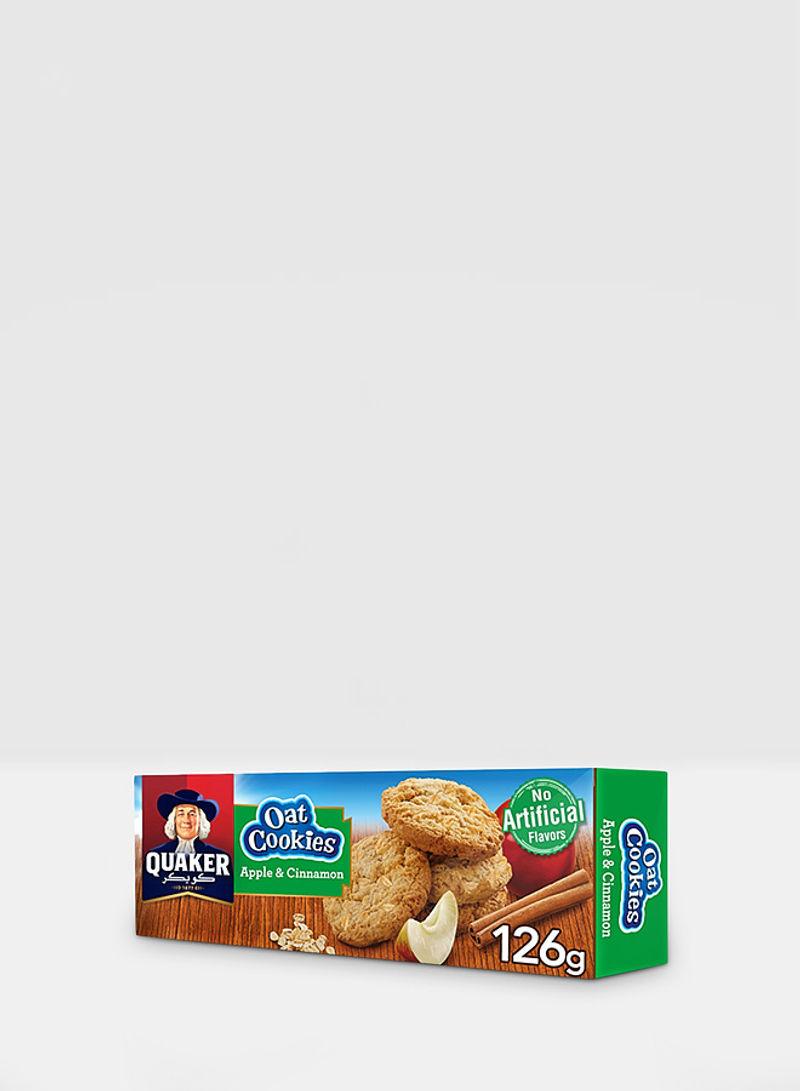 Apple & Cinnamon Oat Cookies 126g