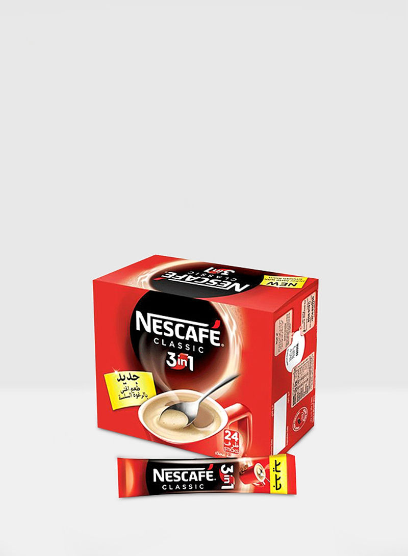 3-In-1 Classic Coffee Pack of 24