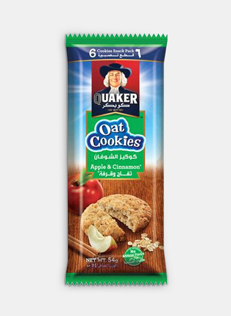 Apple Cinnamon Oat Snack Pack Cookies 54g