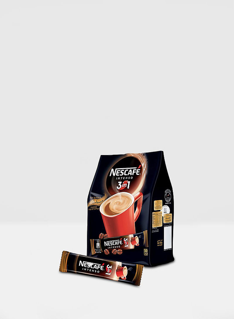 3-in-1 Intenso Instant Coffee 30g Pack of 20