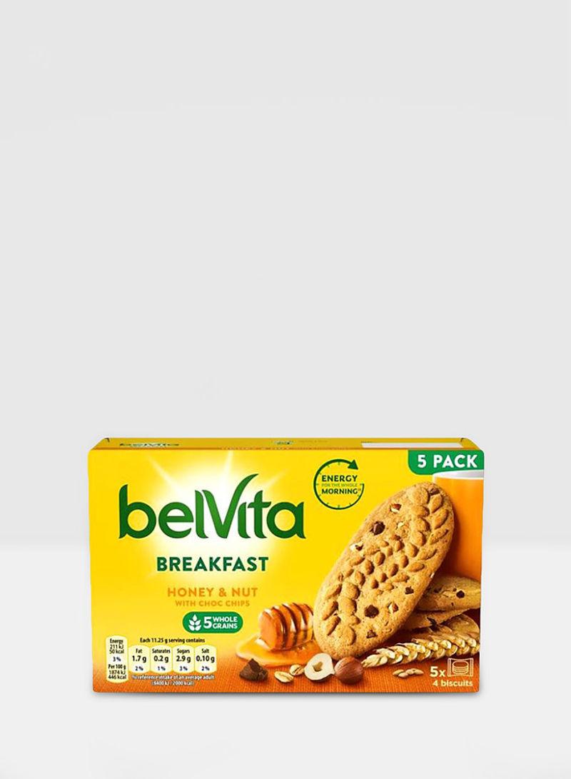 Breakfast Honey And Nuts With Choc Chips Cookie 225g Pack of