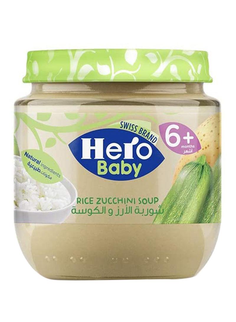 Rice Zucchini Soup 120g