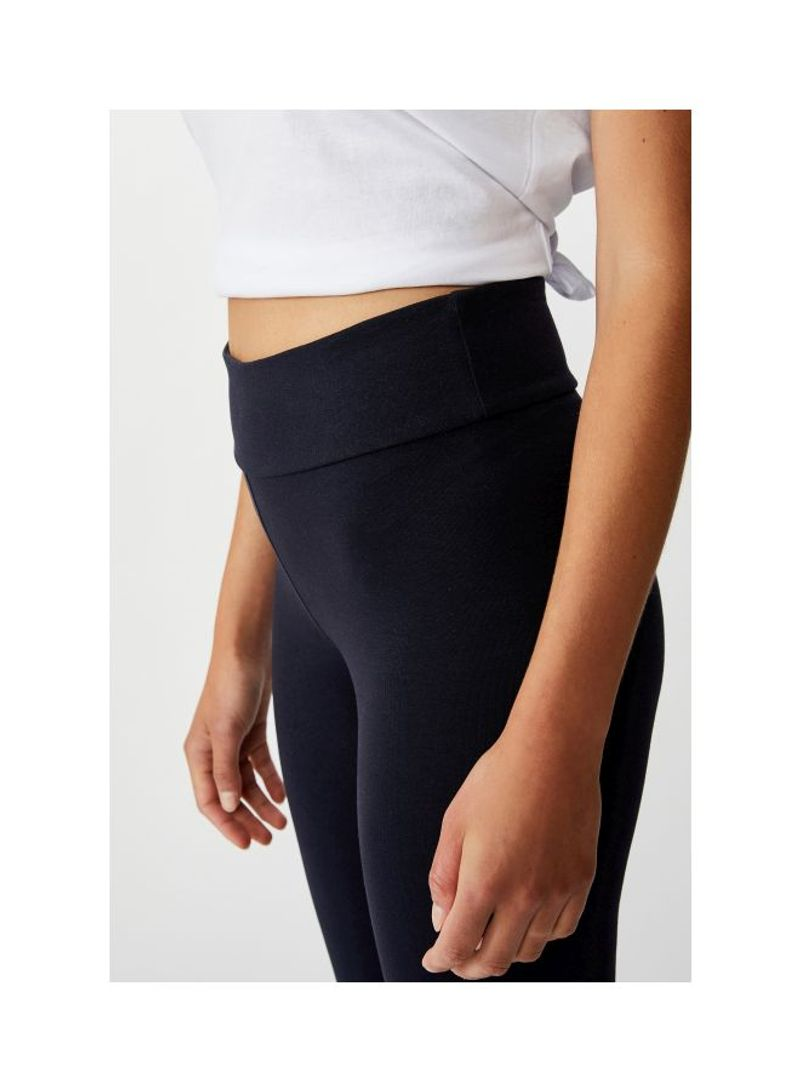 Shop Cotton On Classic Style Dylan High Waist Leggings Moonlight Online In Dubai Abu Dhabi And All Uae