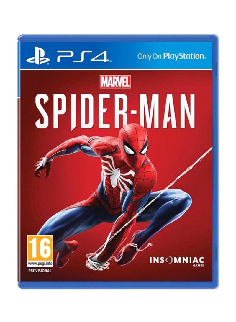 Shop Insomniac Games Marvel Spider Man (Intl Version) - Adventure -  PlayStation 4 (PS4) online in Riyadh, Jeddah and all KSA
