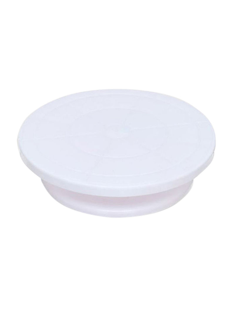 Shop Cake Decorating Turntable White 10centimeter online in Dubai, Abu  Dhabi and all UAE