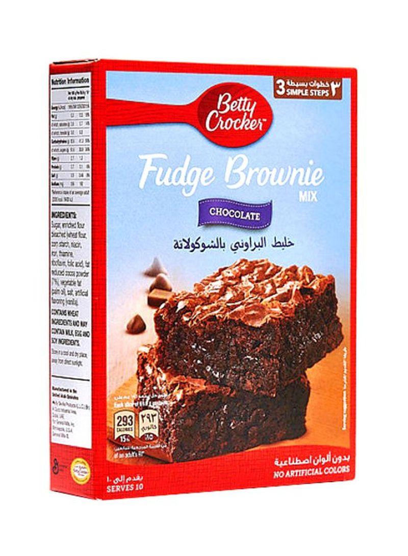 Shop Betty Crocker Fudge Chocolate Mix Brownie 500g Online In Dubai Abu Dhabi And All Uae