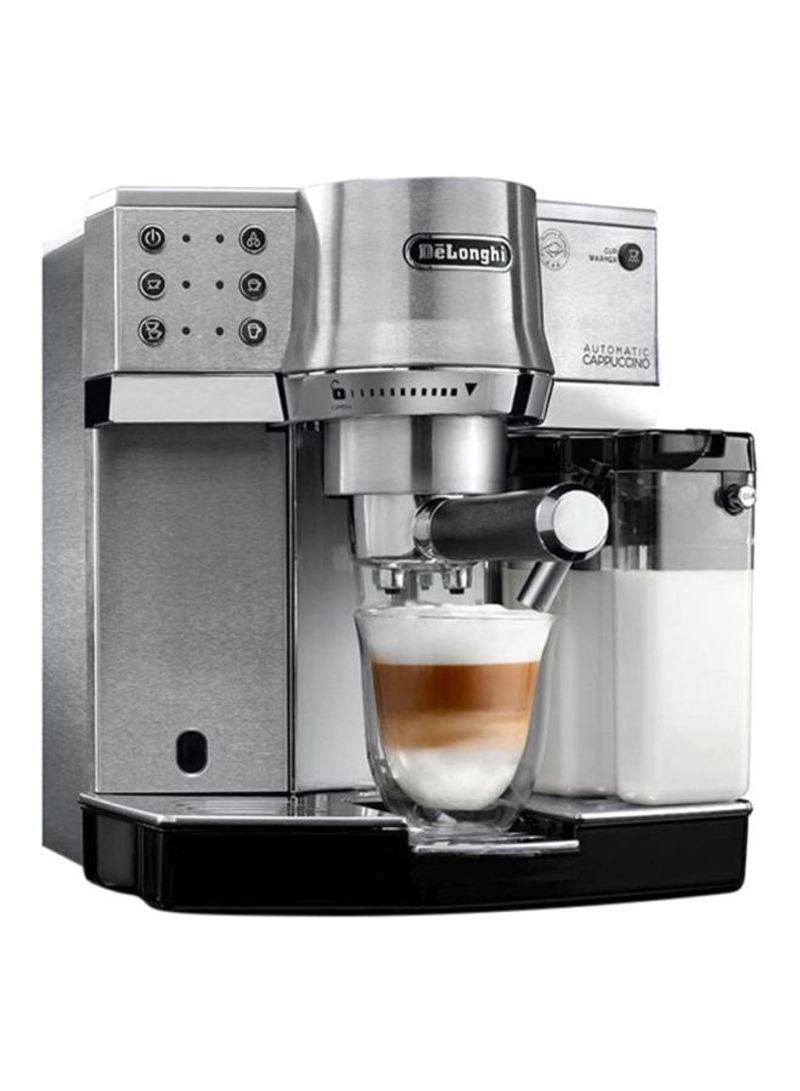 ماكينة صنع القهوة EC850/860.M فضي
