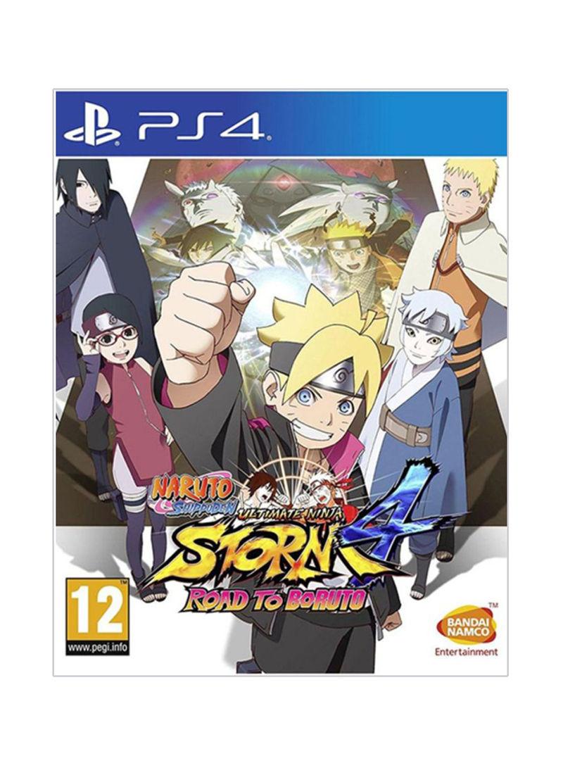 سعر لعبة الفيديو Naruto Shippuden Ultimate Ninja Storm 4 Road To Boruto Free Region Action Shooter بلاي ستيشن 4 Ps4 فى السعودية نون السعودية كان بكام