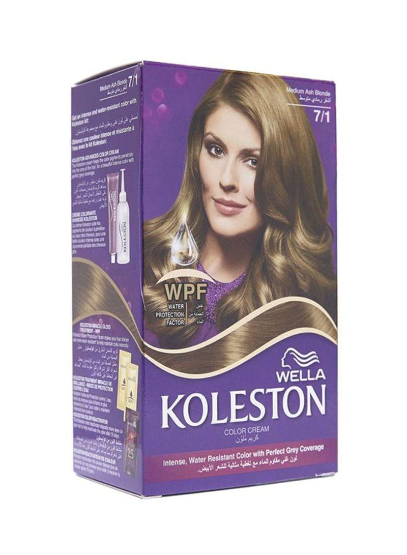 سعر كوليستون صبغة شعر دائمة 7 1 ترابي رمادي متوسط فى الامارات نون الامارات كان بكام
