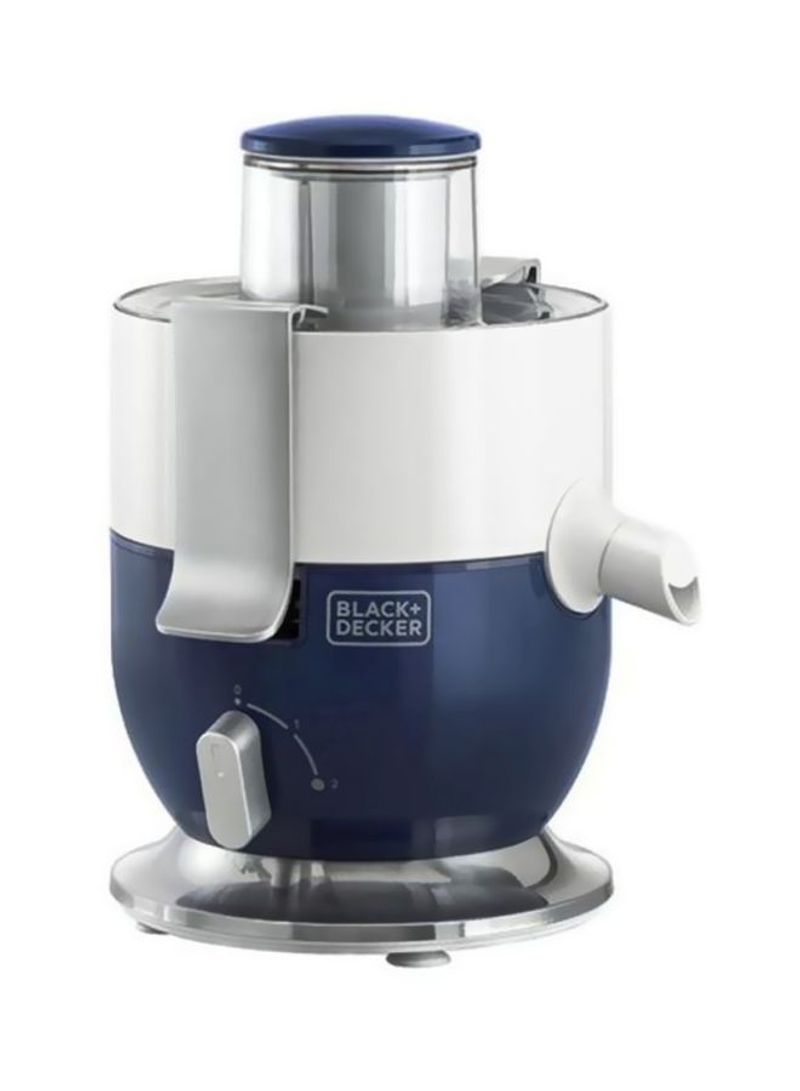 عصارة من بلاك + ديكر JE3501000 واط، أبيض/أزرق.