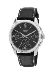 9bbf75281 productboxImg_v1504004907/N11943701A_1. كاسيو. ساعة جلدية كوارتز بعقارب طراز  MTP-1375L-1AVDF