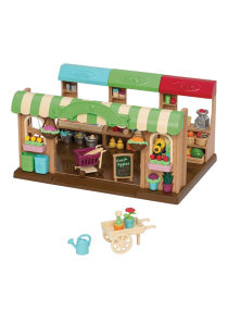 Shop Li L Woodzeez Farmers Market Playset Online In Riyadh Jeddah And All Ksa