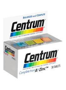 Shop Centrum Complete Multivitamin Multimineral Supplement 30 Tablets Online In Riyadh Jeddah And All Ksa