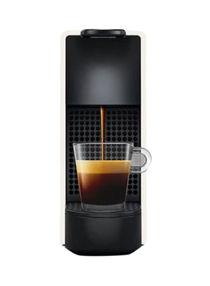 ماكينة قهوة حجم صغير من إيسينزا C030WH أبيض/أسود